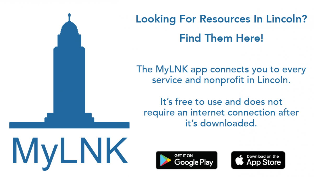 Search for the MyLNK app on Google Play and in the App Store